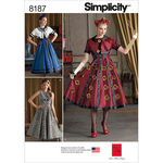 14-16-18-20-22 - SIMPLICITY MISSES' DRESS AND CROPPED JACKET