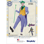 46-48-50-52 - SIMPLICITY MEN'S JOKER COSTUME D.C. COMICS