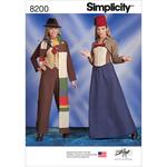 14-16-18-20-22 - SIMPLICITY MISSES' COSTUMES