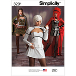 6-8-10-12-14 - SIMPLICITY MISSES' COSPLAY COSTUMES