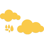 "Clouds .25""X.25 To 1.25""X2"" - Kaisercraft Dies"