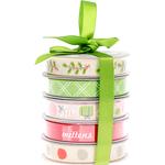 Holiday - American Crafts Ribbon 3yd Each 5/Pkg