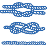 "Rope & Knots .75""X3.5"" To 1.25""X3.75"" - Kaisercraft Dies"
