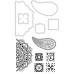 "Mosaic 1""X1"" To 1.75""X3.5"" - Kaisercraft Dies & Stamps"