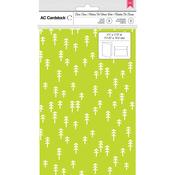 Lime Trees - American Crafts Cards W/Envelopes 8/Pkg