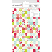 Patchwork Candy - American Crafts Cards W/Envelopes 8/Pkg
