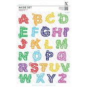 Filigree Alphabet - Xcut A4 Dies 26/Pkg