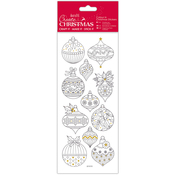 Baubles - Papermania Create Christmas Colour In Stickers