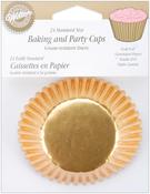 Gold Foil 24/Pkg - Standard Baking Cups