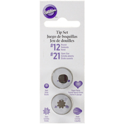 #12 Round & #21 Star - Decorating Tip Set