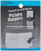 Nail-Less Cloth - Picture Hangers 6/Pkg