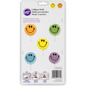 Smiley Face 10 Cavity (1 Design) - Lollipop Mold