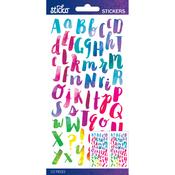 Watercolor Small - Sticko Alphabet Stickers