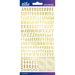 Gold Foil Marker Small - Sticko Alphabet Stickers