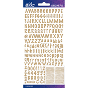 Kraft Marker Small - Sticko Alphabet Stickers