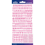 Pink Marker Small - Sticko Alphabet Stickers