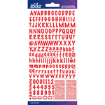 Red Marker Small - Sticko Alphabet Stickers