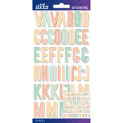 Pastel Pattern Small - Sticko Alphabet Stickers