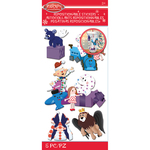 Misfit Toys - Rudolph The Red Nosed Reindeer Stickers - Jolees