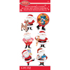 Santa - Rudolph The Red Nosed Reindeer Stickers - Jolees
