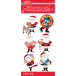 Santa - Rudolph The Red Nosed Reindeer Stickers - Jolees