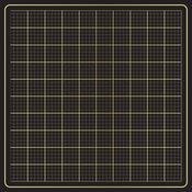 """Gold Foil On Black - DIY Shop 4 Specialty Cardstock 12""""X12"""""""