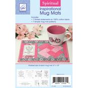 """Spiritual 8""""X10"""" - Inspirational Mug Mats"""