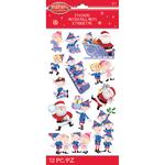Santa Elves - Rudolph The Red Nosed Reindeer Stickers - Jolees