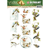 Spirit Of Christmas - Find It Trading Precious Marieke Punchout Sheet