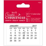 Dated 2017 - Papermania Create Christmas Calendar Tabs 10/Pkg