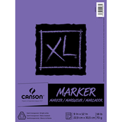 "100 Sheets - Canson XL Marker Paper Pad 9""X12"""