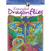 Creative Haven: Entangled Dragonflies - Dover Publications