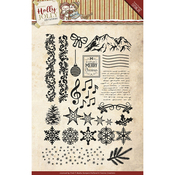 Holly Jolly - Find It Trading Yvonne Creations Clear Stamp