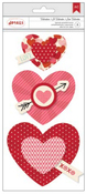 Valentines Rosettes - American Crafts
