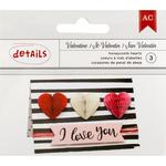Heart Honeycombs - Valentines 2017 - American Crafts