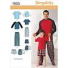 S-L/S-XL - Simplicity Men Boy Sleepwear