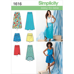 8-10-12-14-16 - Simplicity Misses Skirts Pants