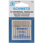 Sizes 10/70 (4), 12/80 (4) & 14/90 (2) - Universal Machine Needles