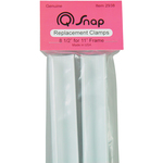 """For 11""""X11"""" Or 11""""X17"""" Q-Snap Frames - Q-Snap Replacement Clamps 8.5"""" 2/Pkg"""