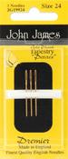 Size 24 3/Pkg - Gold Tapestry Petites Hand Needles