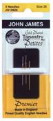 Size 28 3/Pkg - Gold Tapestry Petites Hand Needles