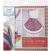 Just Dreamy Crochet Edges - Edgit Piercing Crochet Hook & Book Set