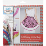 Just Dreamy Crochet Edges - Edgit Piercing Crochet Hook & Book Set