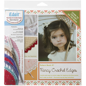 Fancy Crochet Edges - Edgit Piercing Crochet Hook & Book Set