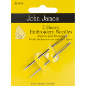 Size 14 2/Pkg - Heavy Embroidery Hand Needles