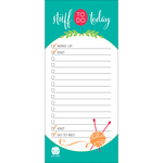 Knit Happy To Do List Pad 100 Sheets