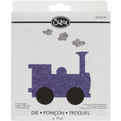 Train Engine - Sizzix Bigz Dies Fabi Edition
