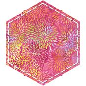 "Hexagon 4-1/4"" Sides - Go! Fabric Cutting Dies"