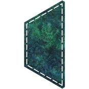 "Half Hexagon 4-1/2"" Sides - Go! Fabric Cutting Dies"