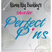 "1"" 50/Pkg - Karen Kay Buckley's Shorter Perfect Pins"